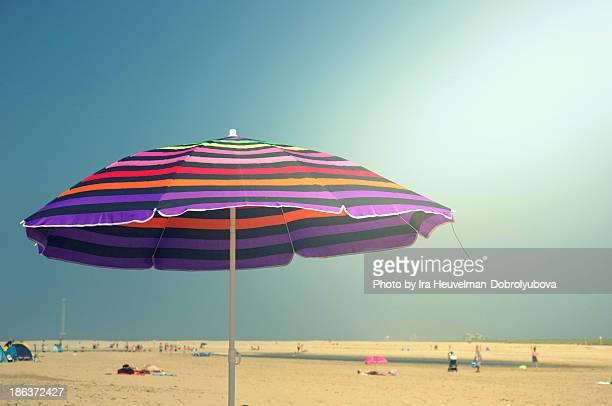 Sun umbrella on the beach