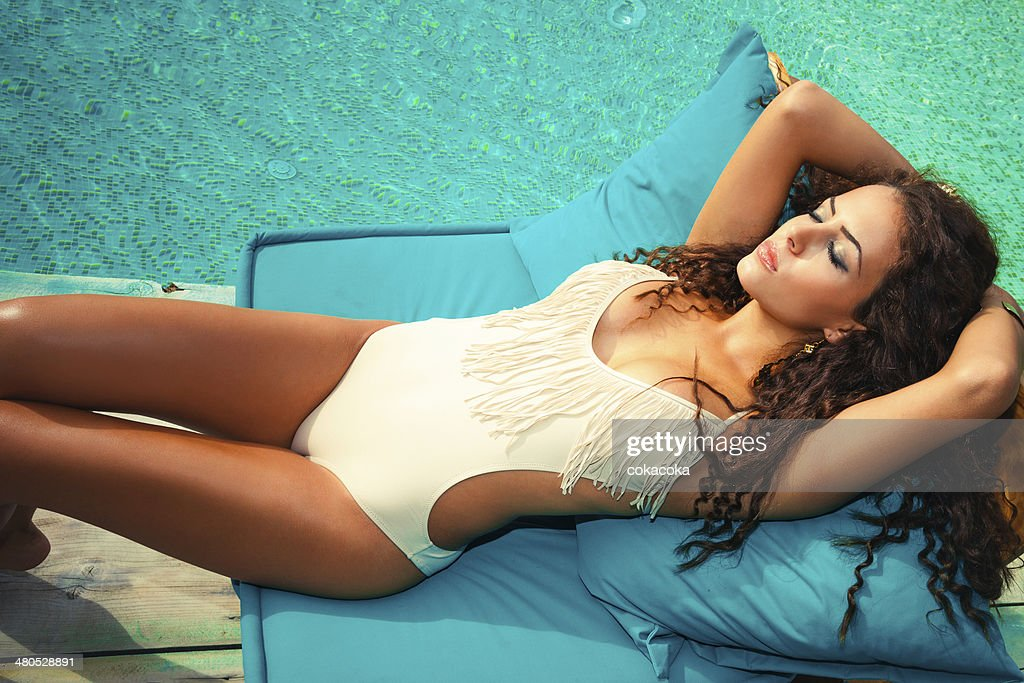 sunbath : Stock Photo