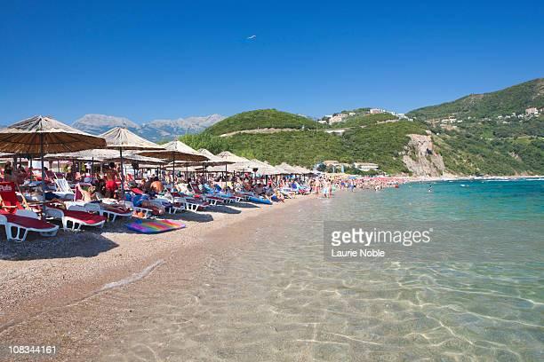 Sunbathers, Jaz Beach, Budva, Montenegro