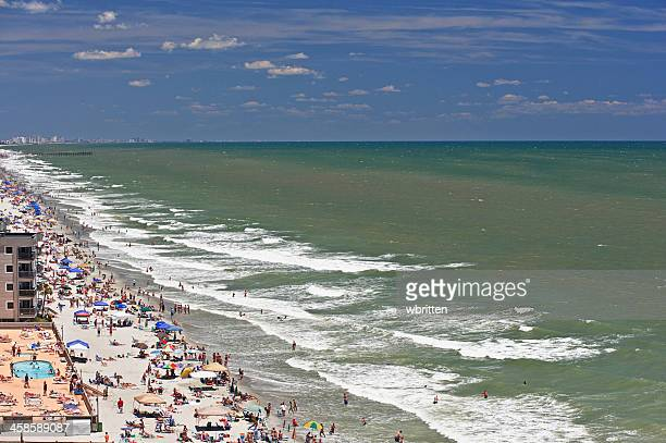 Sunbathing at Myrtle Beach South Carolina