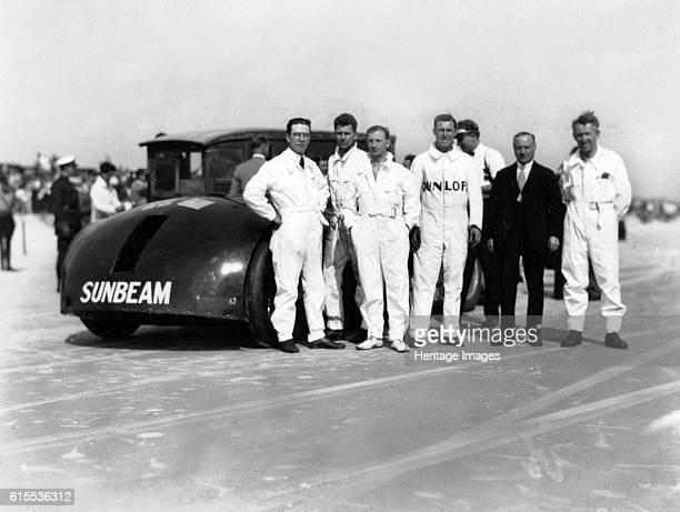 Sunbeam 1000hp World Land speed record attempt at Daytona 1927 Artist Unknown