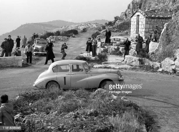 Sunbeam Talbot 90, Stirling Moss, 1954 Monte Carlo rally. Creator: Unknown.