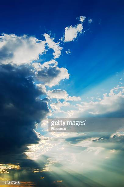 Sunbeams in the Sky