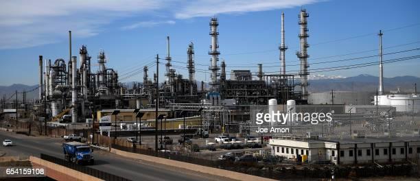 Suncor Refinery in Commerce City. March 16 Commerce City, Colorado.