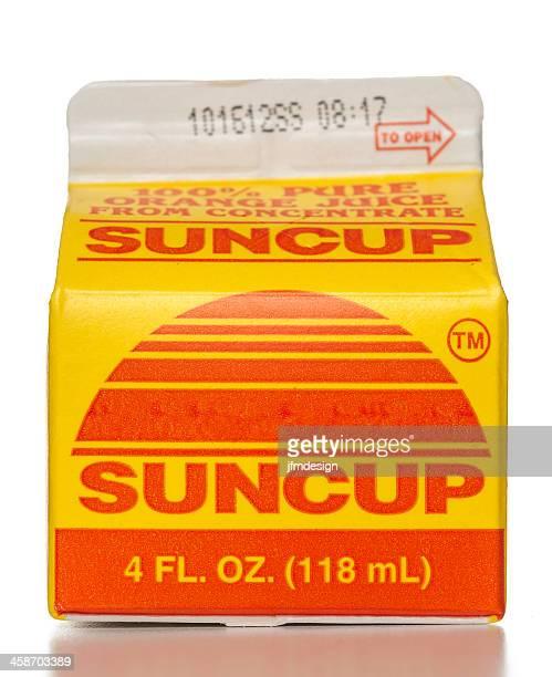 Suncup Orange Juice Carton