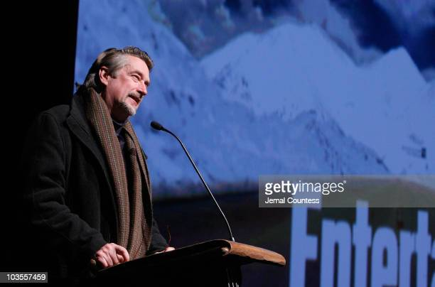Sundance Director Geoffrey Gilmore attends the premiere of The Deal at Eccles Theatre during 2008 Sundance Film Festival on January 22 2008 in Park...