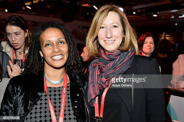 Sundance Film Festival Director Documentary Film Program Tabitha Jackson and Sundance Institute Executive Director Keri Putnam attend Documentary...