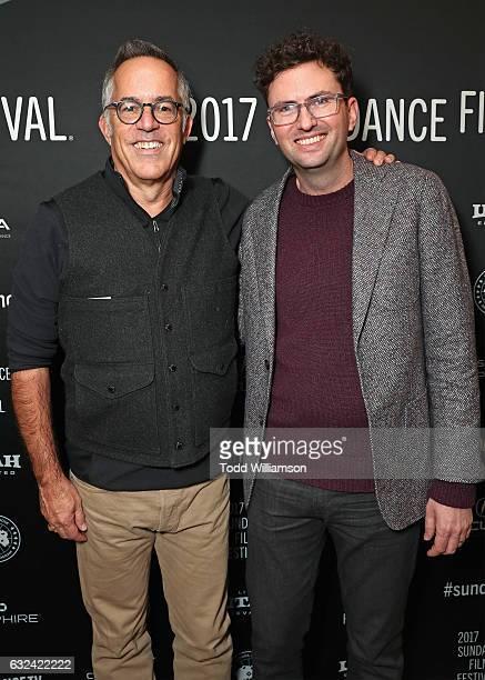 Sundance Film Festival Director John Cooper and director Craig Johnson attends the Sundance Premiere of FOX Searchlights' 'Wilson' at Eccles Center...