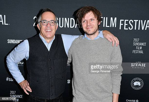 Sundance Film Festival Director John Cooper and Director James C Strouse attend the The Incredible Jessica James Premiere during the 2017 Sundance...