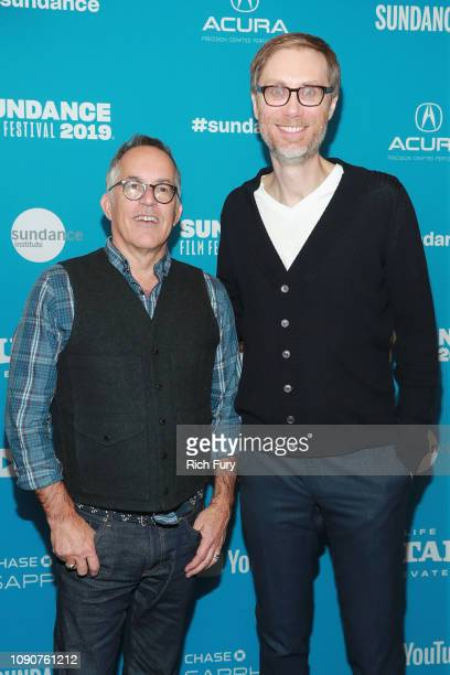 Sundance Film Festival Director John Cooper and director Stephen Merchant attend the Surprise Screening Of Fighting With My Family during the 2019...
