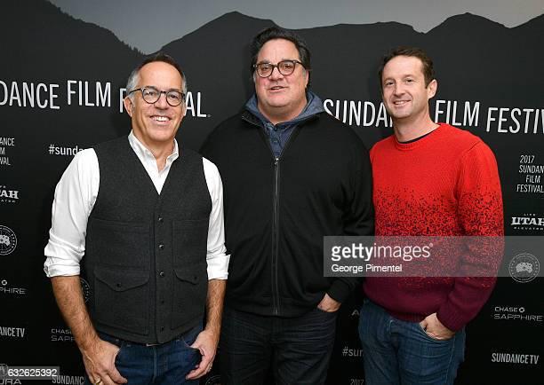 Sundance Film Festival Director John Cooper director/producer Mark Pellington Sundance Film Festival Director of Programming Trevor Groth attend The...