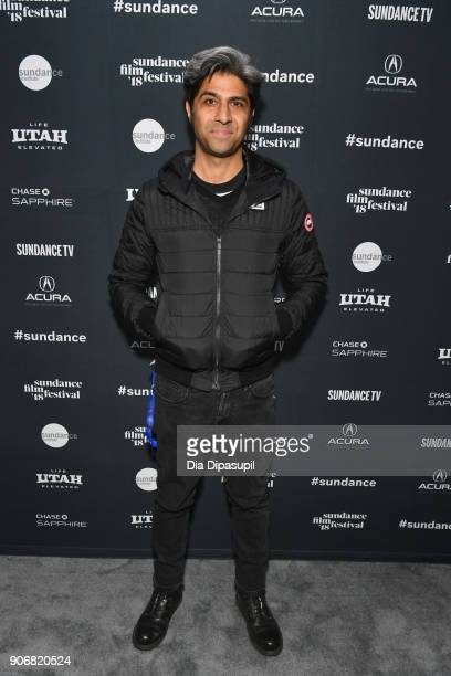 Sundance Film Festival Programmer Hussain Currimbhoy attends the Filmmakers Welcome Reception during the 2018 Sundance Film Festival at The Shop on...