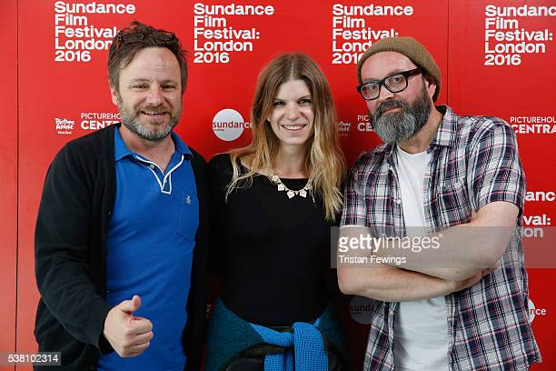 Sundance Film Festival Programmer Mike Plante Producer Katie Metcalfe and BFI and London Short Film Festival Programmer Philip Ilson attend a...