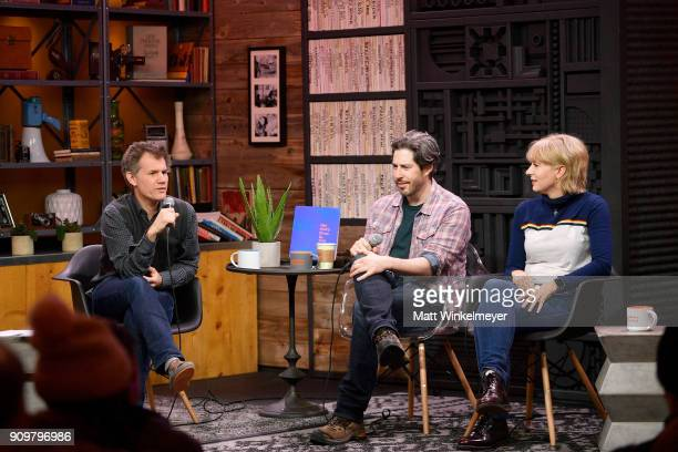 Sundance Film Festival senior programmer John Nein Jason Reitman and Diablo Cody attend the 2018 Sundance Film Festival Cinema Cafe Diablo Cody and...