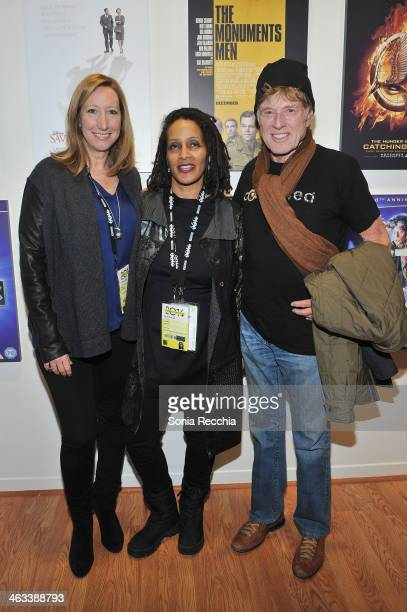 Sundance Institute Executive Director Keri Putnam Documentary Film Program Fund Director Tabitha Jackson and Sundance Institute President and Founder...