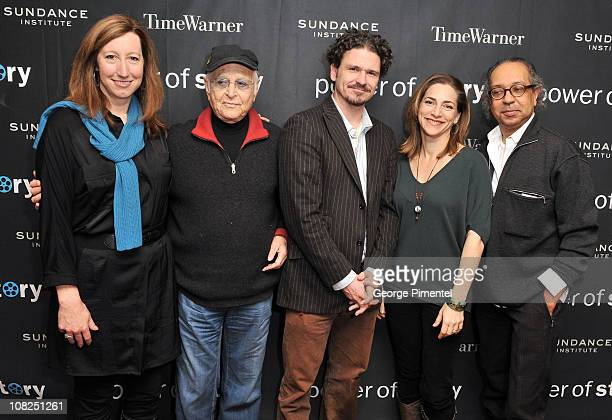 Sundance Institute Executive Director Keri Putnam producer Norman Lear writer Dave Eggers Executive Director of the President's Committee on the Arts...