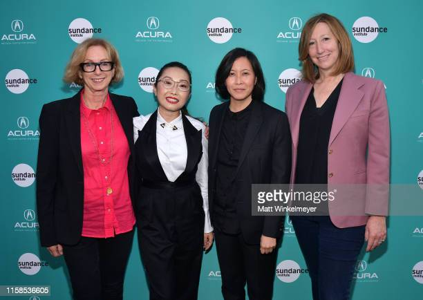 Sundance Institute Founding Director of the Feature Film Program Michelle Satter Lulu Wang Sundance Institute Director of Programming Kim Yutani and...