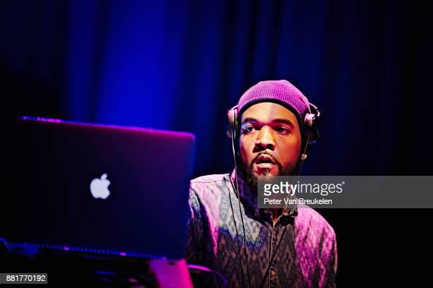 DJ Sundance performs with Robert Glasper at Lantaren Venster on November 10 2017 in Rotterdam Netherlands