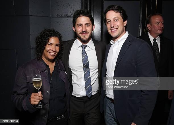 Sundance Programmer Shari Frilot CAA's Franklin Latt and Fox Searchlight's EVP of Production David Greenbaum attend Sundance Institute NIGHT BEFORE...
