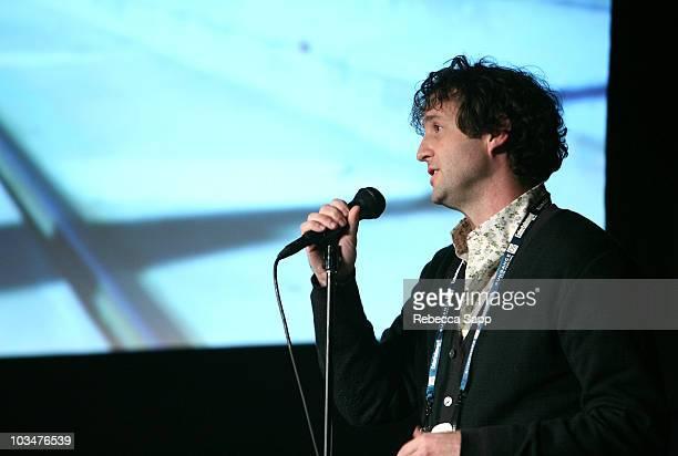 Sundance programmer Trevor Groth attends the 2008 Sundance Film Festival Volunteer Screening of Anvil The True Story of Anvil at the Library Theatre...
