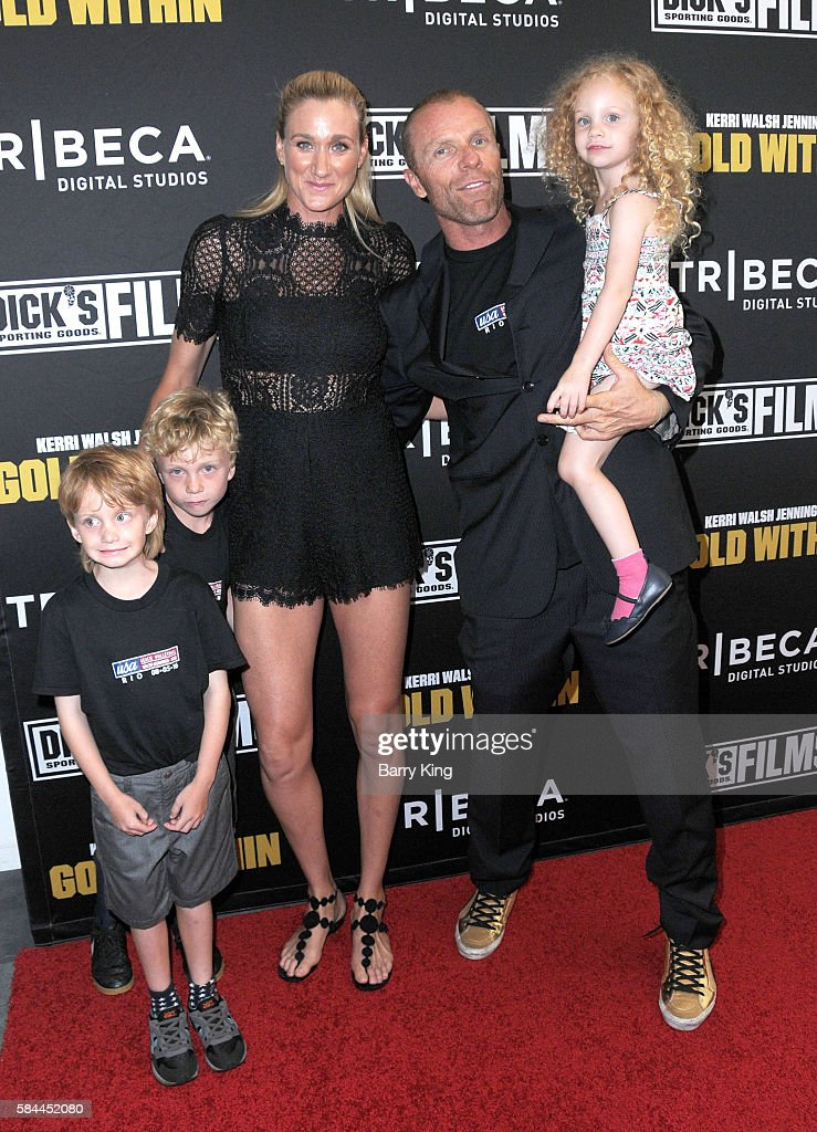 """Premiere Of """"Kerri Walsh Jennings: Gold Within"""" - Arrivals : News Photo"""