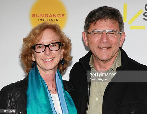 Sundance's Director of the Feature Film Program and evening honoree Michelle Satter and producer David Latt attend Sundance Institute's Celebrate...