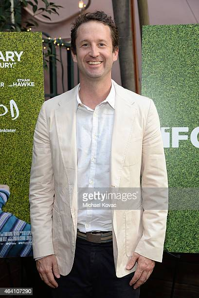 Sundance's Trevor Groth attends the AMC Networks and IFC Films Spirit Awards After Party on February 21 2015 in Santa Monica California