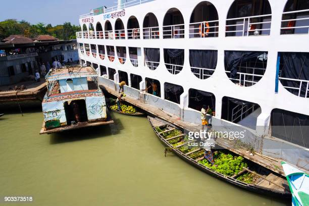 sundarbans' rocket steamer - khulna stock photos and pictures