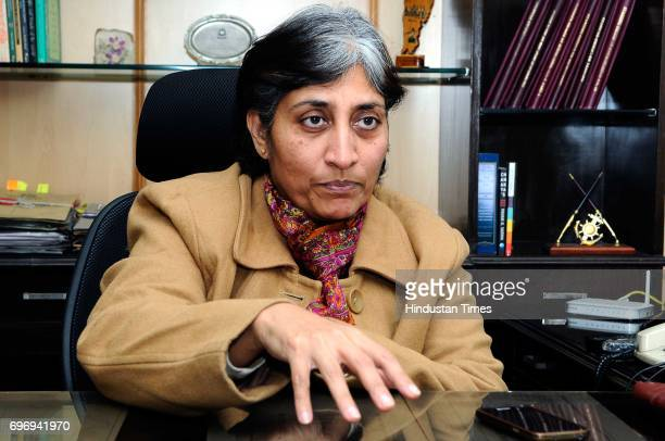 Sundari Nanda Special Commissioner of Delhi Police during an exclusive interview with Hindustan Times for the special feature story discussing about...