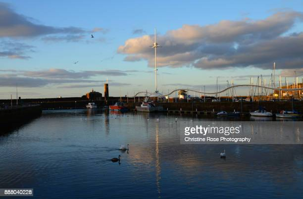 sunday afternoon - whitehaven cumbria stock pictures, royalty-free photos & images