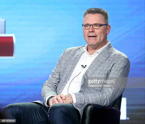 Sunday Analyst Howie Long of the television programming 'FOX Sports' speaks onstage during the FOX portion of the 2017 Winter Television Critics...