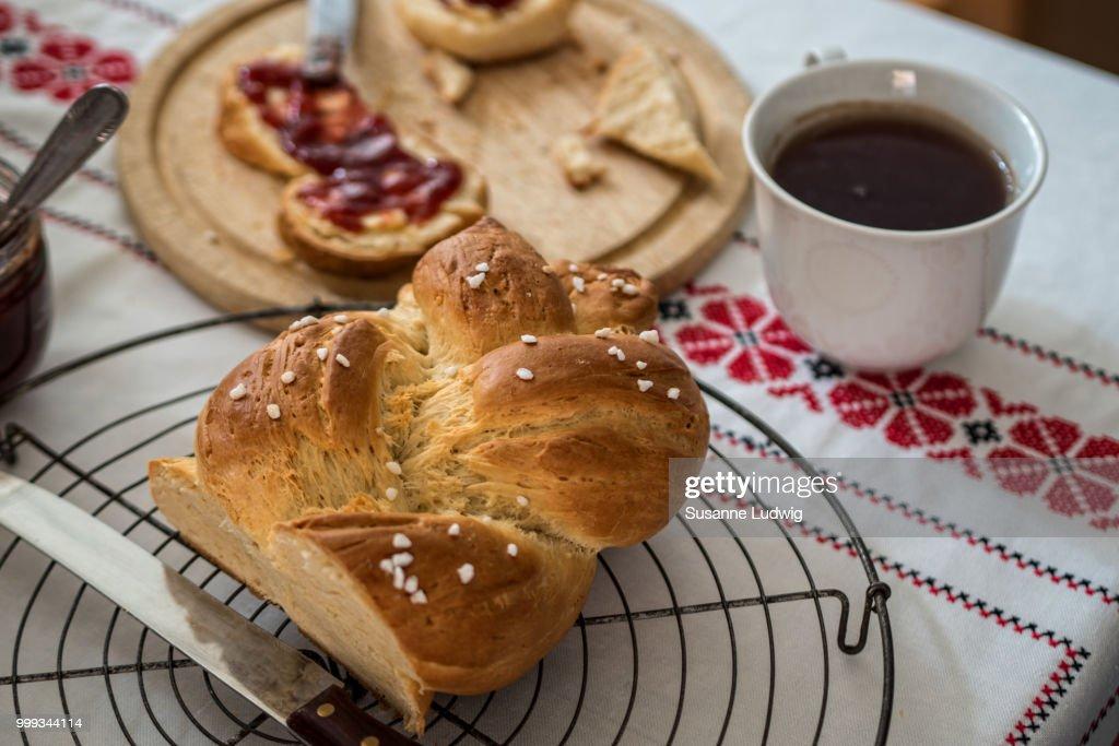sunday breakfast : Stock Photo