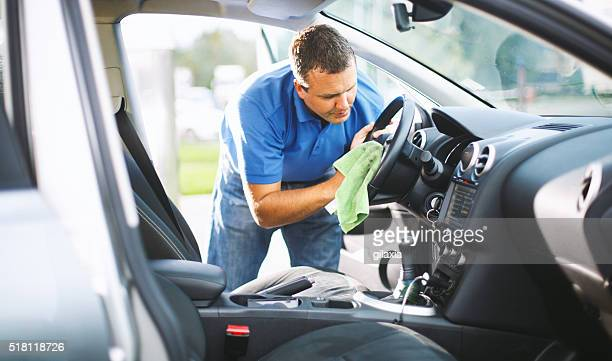 sunday car wash. - vehicle interior stock pictures, royalty-free photos & images