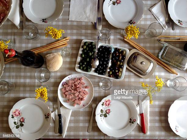 sunday dinner  - baloney stock photos and pictures
