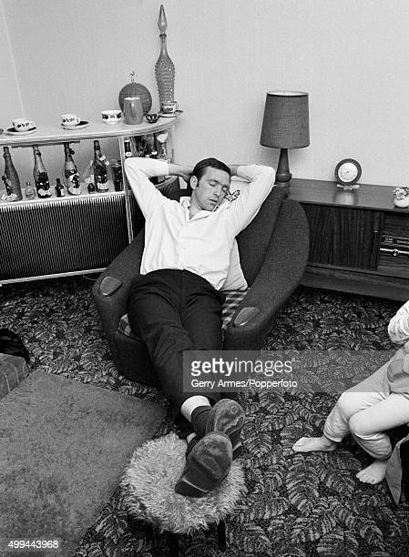 Sunday evening at the home of West Bromwich Albion striker Jeff Astle who can finally get some rest after a day of celebrations in the town 19th May...
