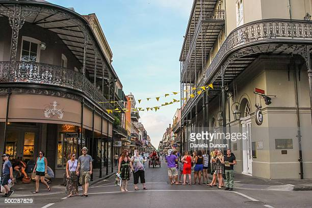 CONTENT] Sunday evening at the lively French Quarter in New Orleans Editorial Use Only