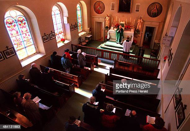 A RODGERS Sunday February 8 1998 St Patricks church in Newcastle built in 1808 is the oldest surviving Catholic church in New England A traditional...