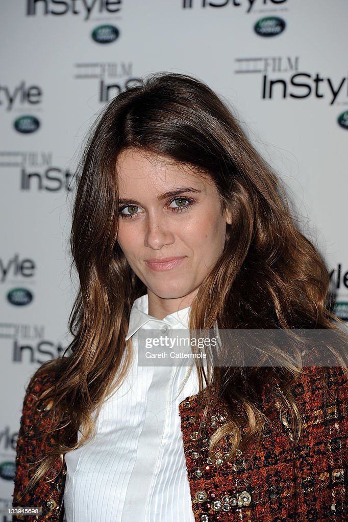 Sunday Girl arrives at 'Film InStyle' in association with Land Rover celebrating InStyle Magazine's 10th Anniversary at The Sanctum Soho Hotel on November 22, 2011 in London, England.