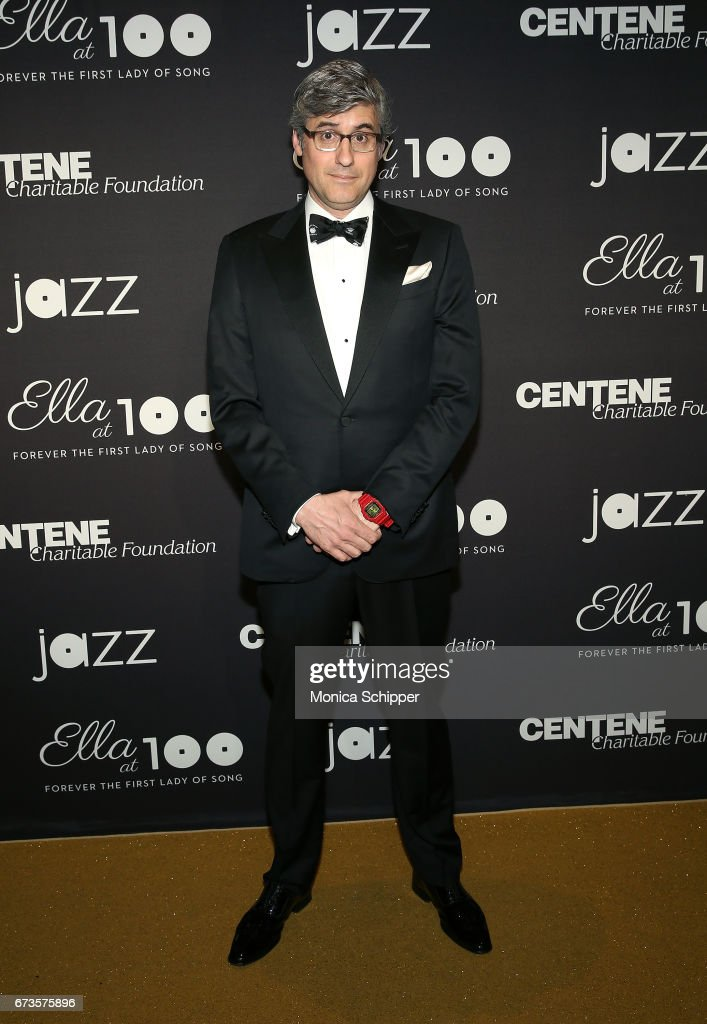 CBS Sunday Morning Correspondent Mo Rocca attends the 2017 Jazz At Lincoln Center Gala: Ella At 100: Forever The First Lady of Song at Frederick P. Rose Hall, Jazz at Lincoln Center on April 26, 2017 in New York City.