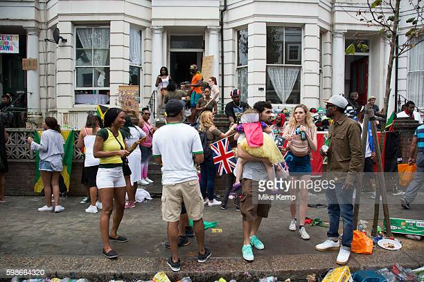 Sunday on 28th August 2016 at Notting Hill Carnival in West London A celebration of West Indian / Caribbean culture and Europe's largest street party...
