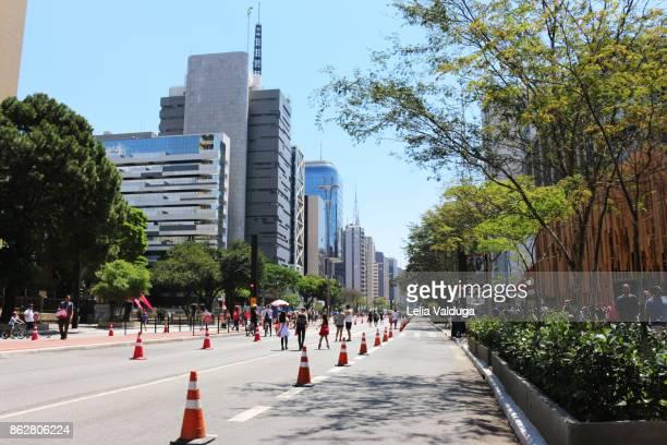 A Sunday on Paulista Avenue - Sao Paulo - SP - Brazil