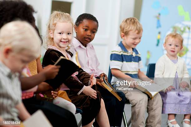 sunday school kids - sunday stock pictures, royalty-free photos & images