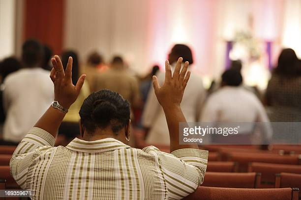 Sunday service at Words of Life fellowship church Miami
