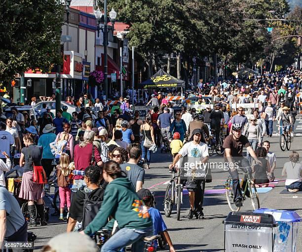 Sunday Streets Festival Berkeley, 2012