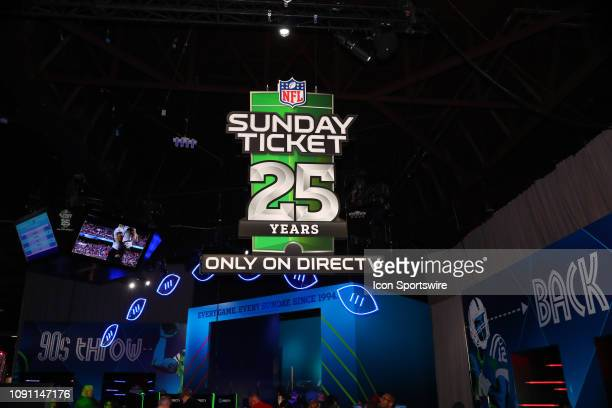 Sunday Ticket at the Super Bowl LIII Experience on January 29, 2019 at the Georgia World Congress Center in Atlanta, GA.