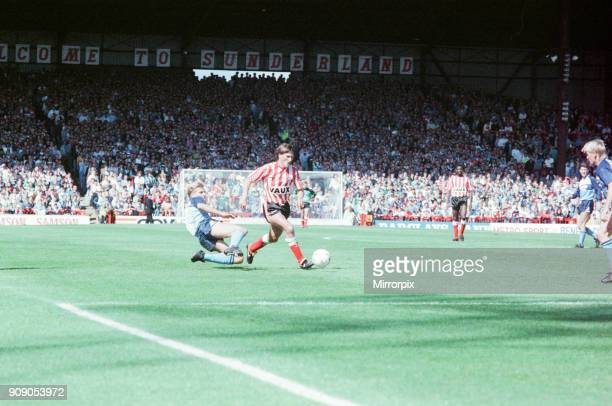 Sunderland 2-1 Middlesbrough, Division Two league match at Roker Park, Sunday 27th August 1989.
