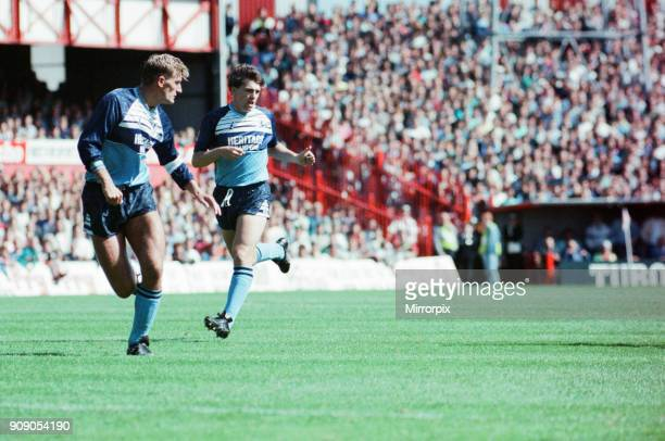 Sunderland 2-1 Middlesbrough, Division Two league match at Roker Park, Sunday 27th August 1989. Tony Mowbray.