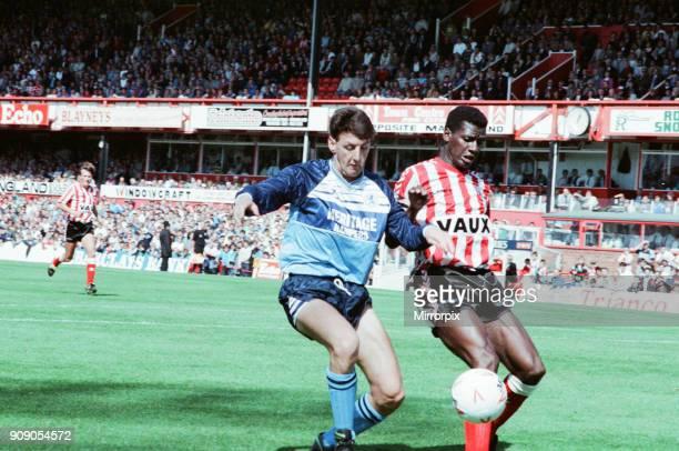Sunderland 21 Middlesbrough Division Two league match at Roker Park Sunday 27th August 1989 Gary Bennett