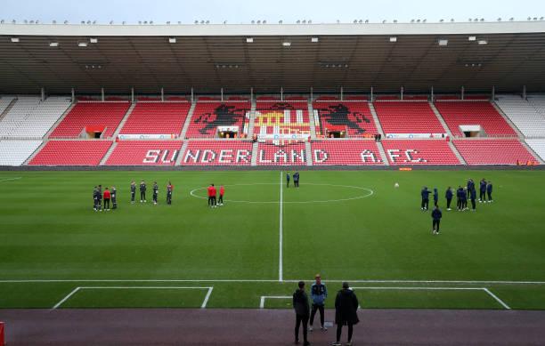 GBR: Sunderland v Newcastle United: Premier League 2
