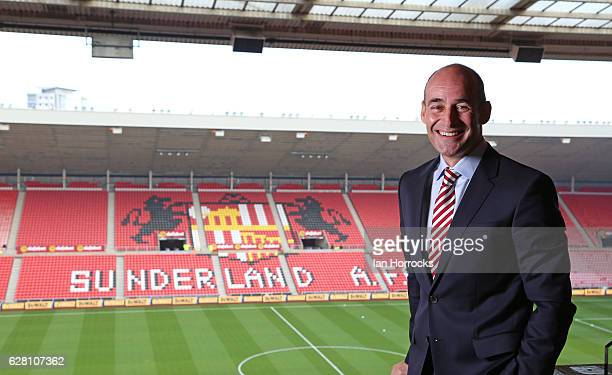 Sunderland Chief Executive Martin Bain during a portrait session on December 3 2016 in Sunderland England